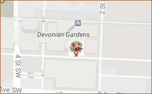 Send Flowers to Calgary map thumbnail, 315 8 AVE SW Calgary AB T2M 3L1